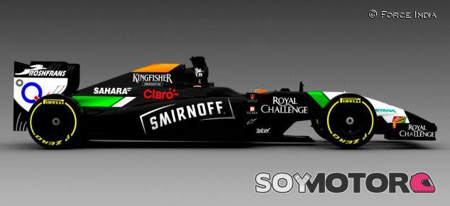 Smirnoff será el nuevo patrocinador de Force India - LaF1.es
