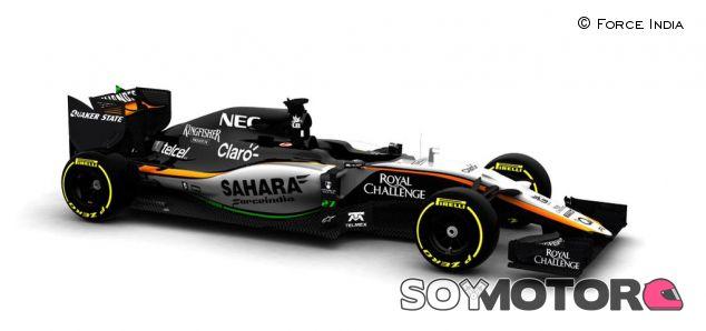 Presentado el VJM08 de Force India - LaF1.es