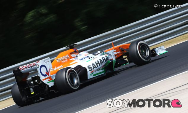 Force India ha sufrido más con el neumático medio que con el blando