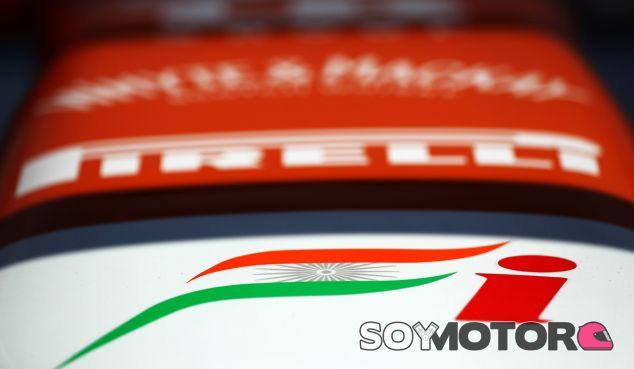 Detalle del Force India VJM06