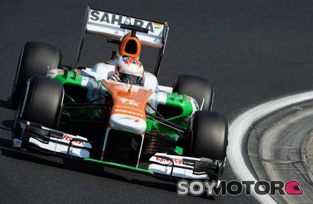 Paul di Resta en el Hungaroring