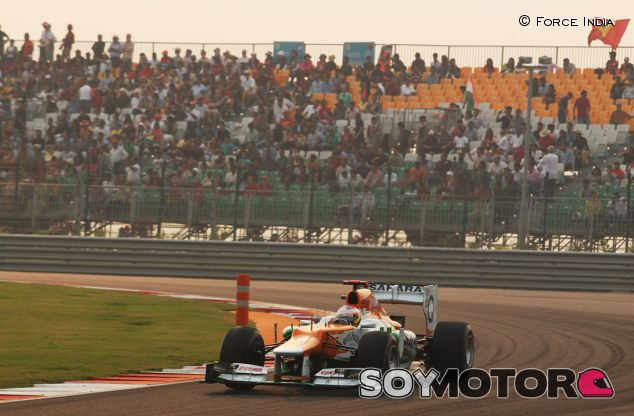 Paul di Resta en el GP de la India de 2012