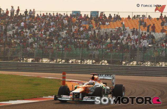 Paul di Resta en el GP de la India de 2012