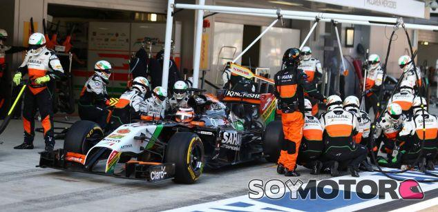 Force India se salva de la quiebra tras pagar a Mercedes - LaF1.es