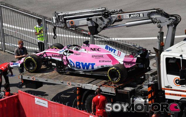 Force India en el GP de España F1 2018: Viernes - SoyMotor.com