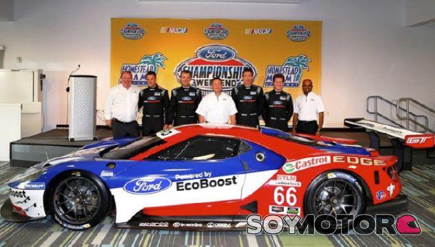 Ford GT: el superdeportivo que ganó las 24 Horas de Le Mans