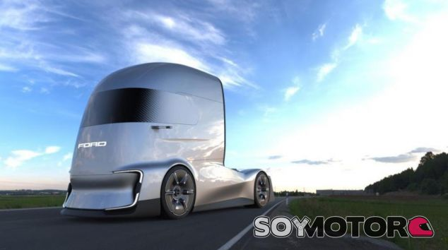 Ford F-Vision Future Truck Concept: el camión eléctrico y autónomo de Ford - SoyMotor.com