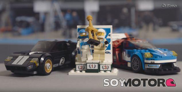 Ford GT40 y Ford GT de Lego para recrear las victorias de Le Mans - SoyMotor.com