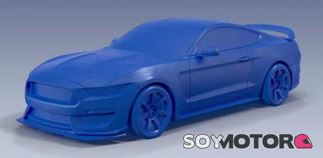 El Ford Shelby GT 350 en miniatura - SoyMotor