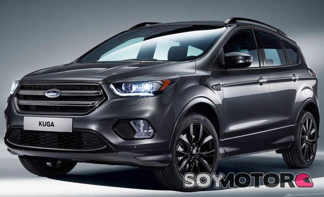 El Ford Kuga 2016 estrena nuevo frontal, aunque sólo es una de sus numerosas novedades - SoyMotor