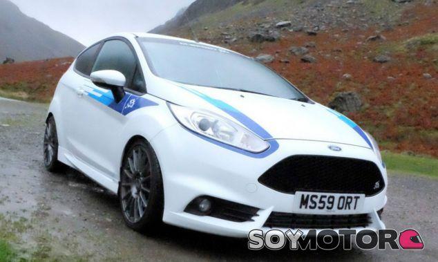 El Ford Fiesta ST M-Sport Edition durante uno de los test - SoyMotor