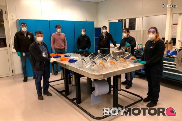 Ford Almussafes comienza a producir material sanitario - SoyMotor.com