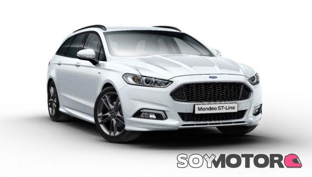 Ford presenta en Goodwood el Mondeo ST-Line
