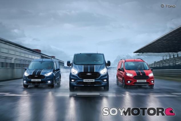 La gama Transit Sport se completará con la llegada a mediados de 2019 del Custom Sport, con motor de 185 caballos - SoyMotor.com