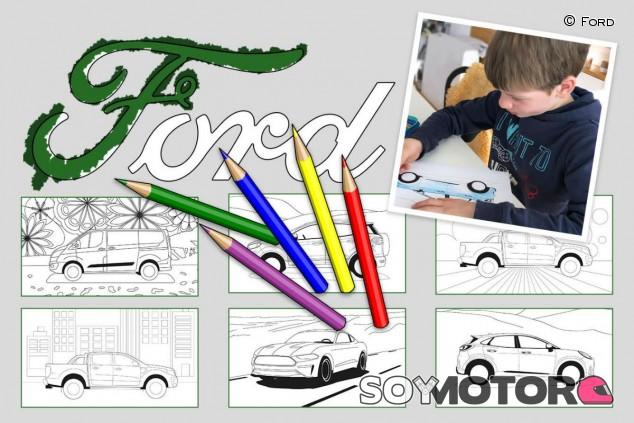 Ford entretiene a tus hijos durante el confinamiento - SoyMotor.com