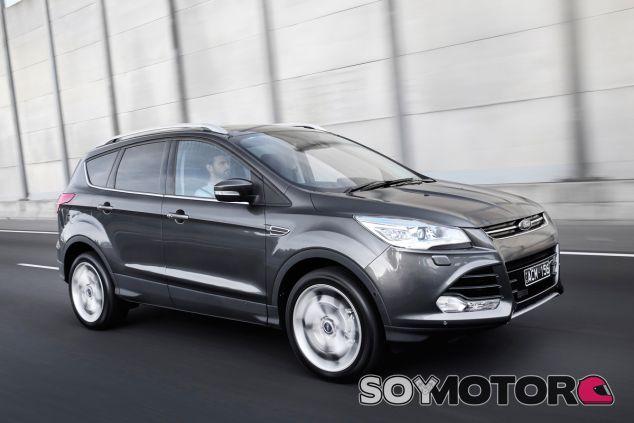 El Ford Kuga es uno de los exponentes de la oferta SUV de la marca - SoyMotor