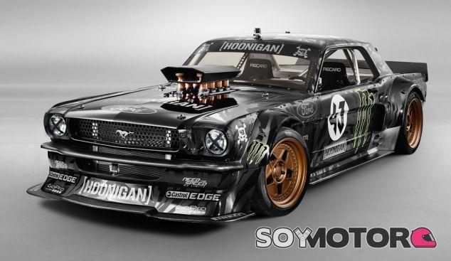 Este es el Ford Mustang de 1965 Hoonicorn de Ken Block - SoyMotor