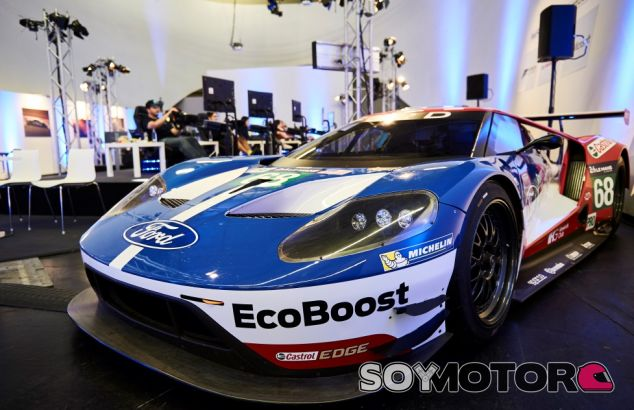 Récord Guinness Ford GT 48 horas y media en Le Mans