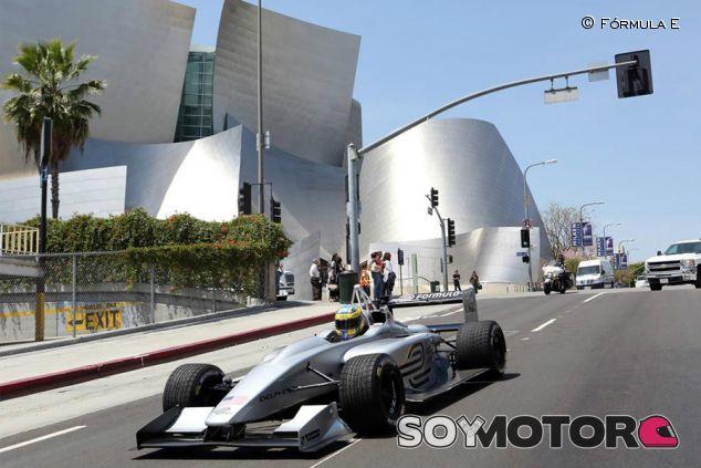 Exhibición de la Fórmula E en la ciudad de Berlin - LaF1