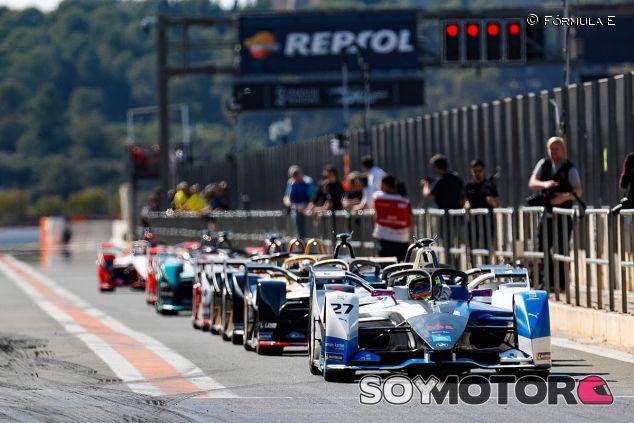 Test de Fórmula E en Valencia – SoyMotor.com