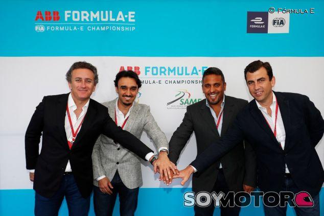 Pacto entre la Fórmula E y Arabia Saudí – SoyMotor.com