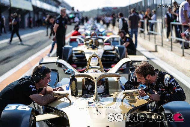 Escena de los test de la Fórmula E - SoyMotor
