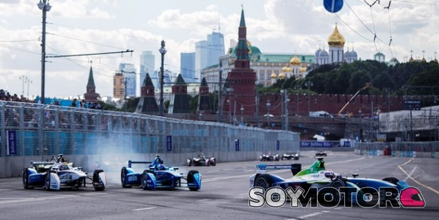 Carrera de Fórmula E en Moscú – SoyMotor.com