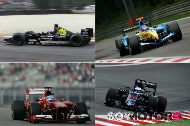 Los coches de Alonso - SoyMotor
