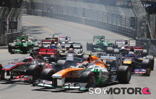 Salida del Gran Premio de Mónaco de 2013 - LaF1