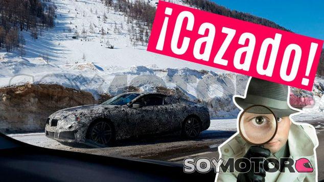 El BMW Serie 8 detenido en el arcén durante uno de sus test en carretera - SoyMotor.com