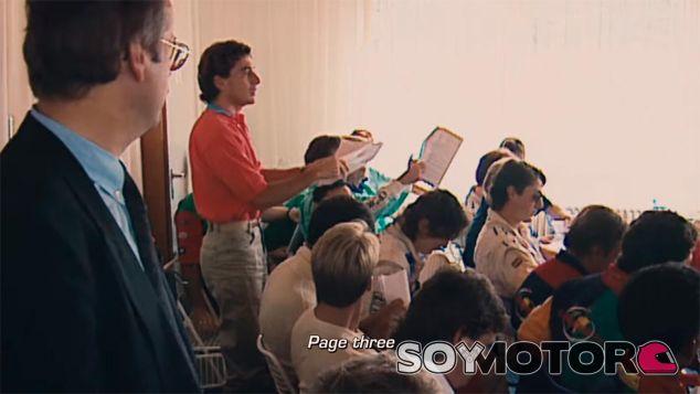 Fotograma del documental Senna - LaF1
