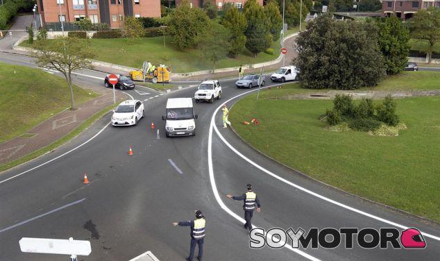 Obras de acondicionamiento en la turbo-rotonda de Santander - SoyMotor