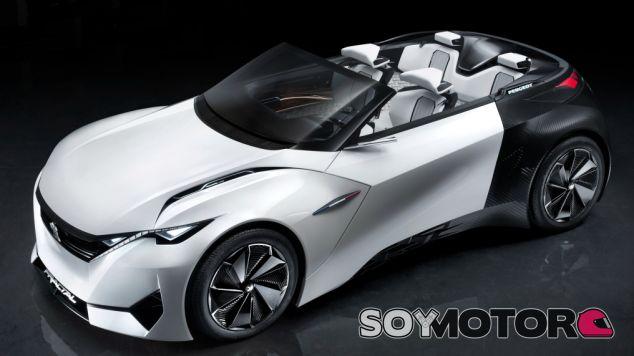 Peugeot Fractal, conducción con los cinco sentidos -SoyMotor