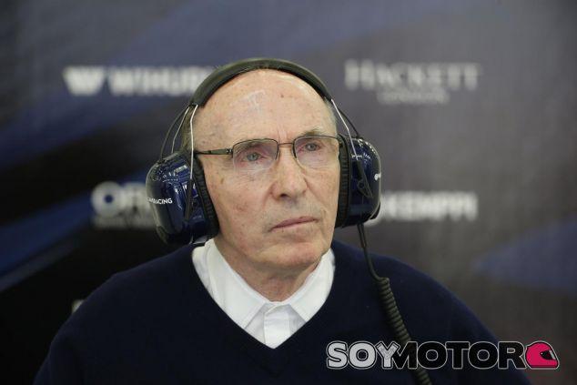 Frank Williams tiene 74 años - SoyMotor