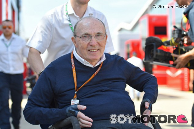 """Frank Williams: """"50 años en F1, seguimos la lucha, aún no me voy"""" - SoyMotor.com"""