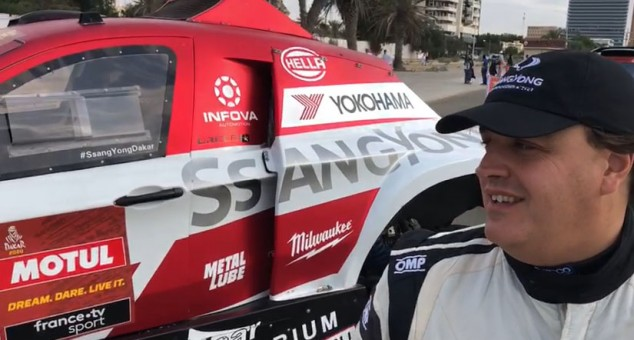 "Óscar Fuertes, ""muy ilusionado"" ante su tercer Dakar - SoyMotor.com"