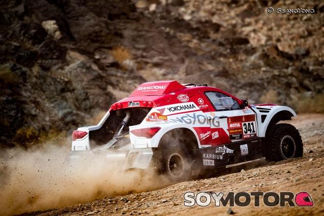 Hinojo, nuevo líder en SSV; gran etapa de Esteve y Fuertes - SoyMotor.com