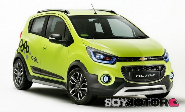 El Chevrolet Activ Concept es un compacto disfrazado de SUV - SoyMotor