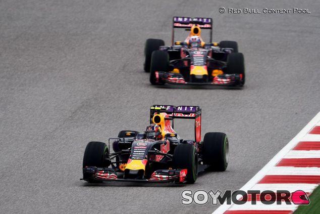 Kvyat y Ricciardo han dado tres podio a Red Bull este año, pero ninguna victoria - LaF1