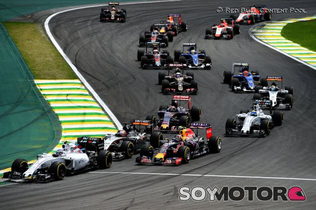 Salida del Gran Premio de Brasil - LaF1