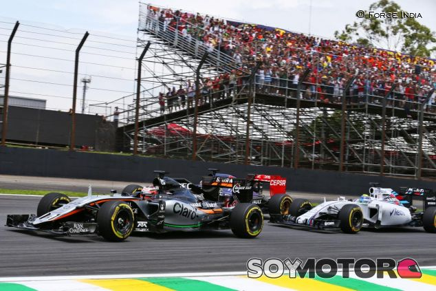 En Force India se han propuesto superar a Williams la próxima campaña - LaF1