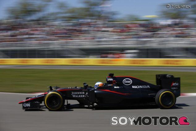 El McLaren MP4-30 en Canadá - LaF1.es