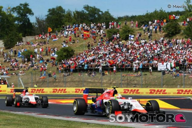 Los dos Manor en Hungría - LaF1.es