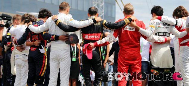 Minuto de silencio por Jules en el Gran Premio de Hungría - LaF1