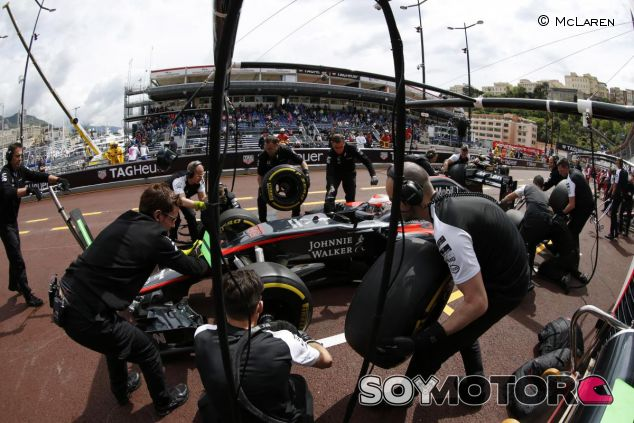 Jenson Button en Mónaco - LaF1.es