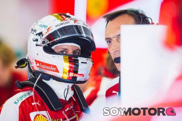 Vettel acabó el GP de Bélgica sin podio y enfadado con Pirelli - LaF1