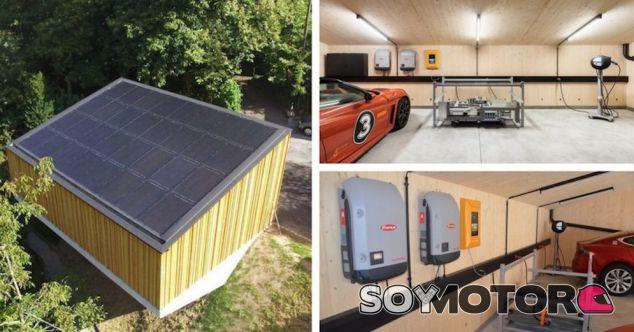 Sun2Wheel: un garaje solar para los coches eléctricos - SoyMotor.com