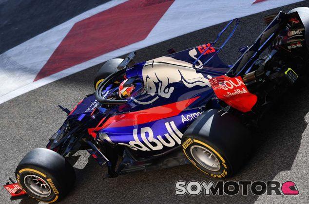 Pierre Gasly con el STR12 en Yas Marina - SoyMotor.com