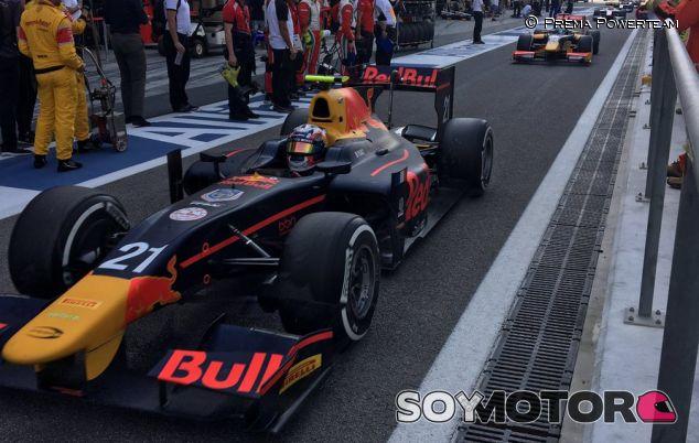 Gasly durante un Gran Premio de GP2 esta temporada - LaF1