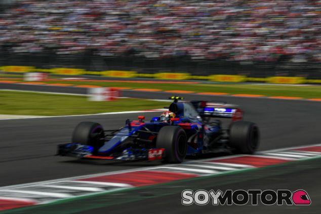 Gasly durante el GP de México - SoyMotor.com